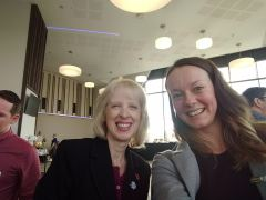 Meeting the awesome Ann Gravells