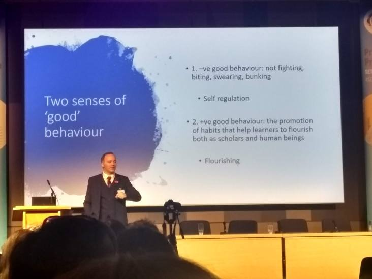Cultivating good behaviour